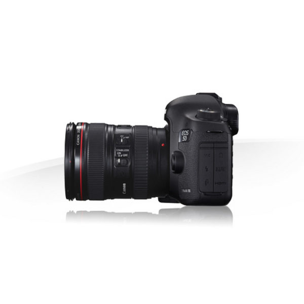 Canon 5D mk3 en location vu de côté