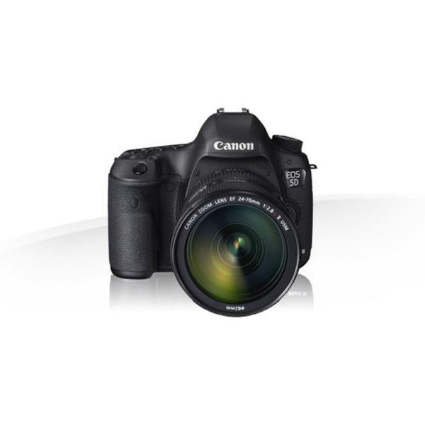 Canon 5d mk3 en location, photo avec objectif