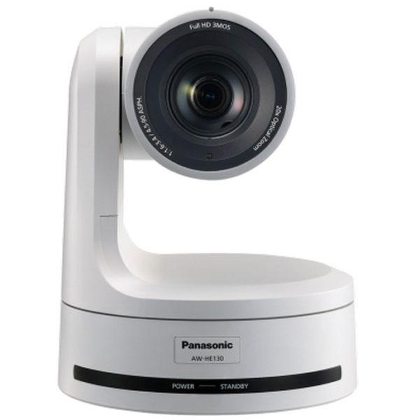 Panasonic AW-HE130 caméra tourelle motorisée en location avec pan tilt et zoom robotisé vue de face